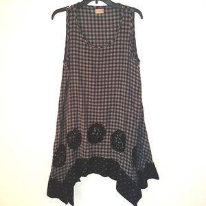 Cute boho style dress, size M, S100